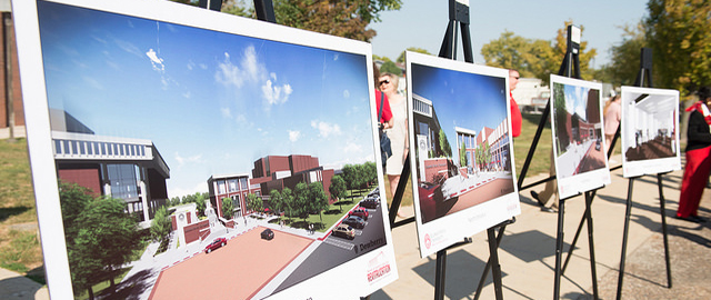 Renderings of the Bone Student Center Revitalization